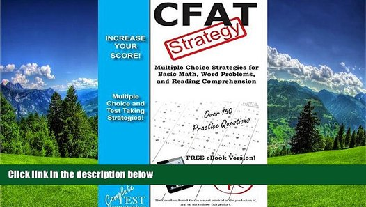 Online eBook Cfat Test Strategy: Winning Multiple Choice Strategies for the  Canadian Forces
