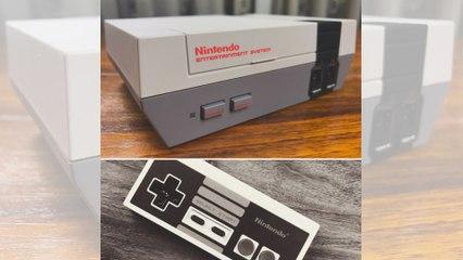 Nintendo Classic Mini - Unboxing (deutsch)