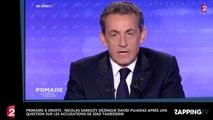 Nicolas Sarkozy allume David Pujadas après une question sur les accusations de Ziad Takieddine