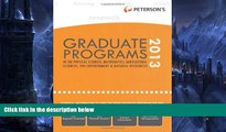 Big Deals  Graduate Programs in the Physical Sciences, Mathematics, Agricultural Sciences, the