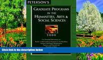 Books to Read  Peterson s Graduate Programs in the Humanities, Arts   Social Sciences 2000