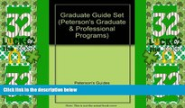 Big Sales  Graduate Guide Set 2007 (Peterson s Graduate   Professional Programs)  Premium Ebooks
