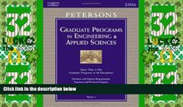 Deals in Books  Grad Guides BK5: Engineer/Appld Scis 2006 (Peterson s Graduate and Professional