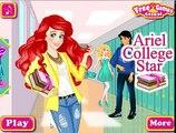 Ariel College Star - Best Video Kids - Disney Princess Ariel Makeup and Dress Up Games