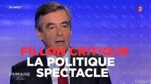 """François Fillon critique """"la politique spectacle"""" de France 2"""