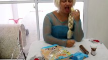 FROZEN ELSA POO AND FART PRANK - FUN SUPERHEROES MOVIE IN REAL LIFE IRL Superheroes Webs Fun