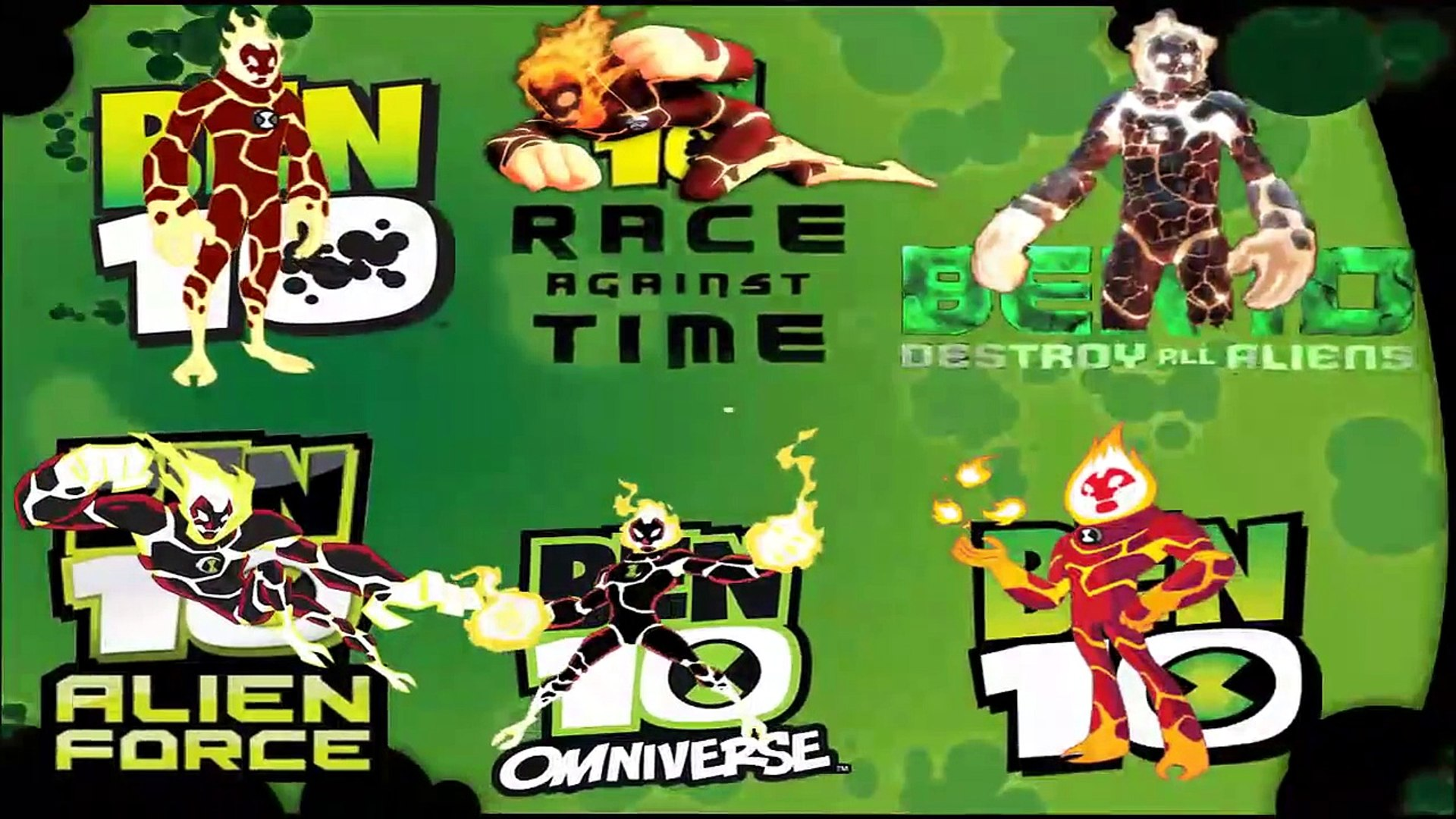 All Versions Of All Ben 10 Aliens Part 1 Video Dailymotion