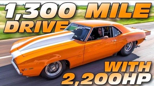 2000+hp '69 Camaro BATTLES Larry Larson - Rocky Mountain Race Week!