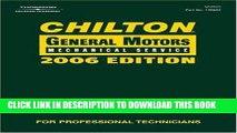 Ebook Chilton 2006 General Motors Mechanical Service Manual (Chilton General Motors Service