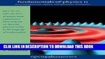 Ebook Fundamentals of Physics II: Electromagnetism, Optics, and Quantum Mechanics (The Open Yale