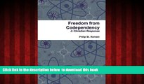 Best books  Freedom from Codependency: A Christian Response BOOOK ONLINE
