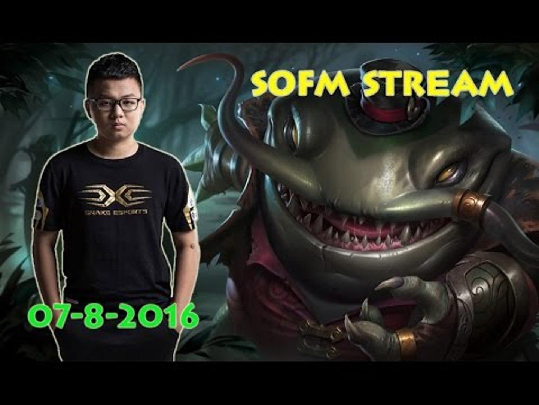 [SofM Stream ngày 7/8/2016] SofM cầm Tahm Kench Hỗ trợ cùng Jhin