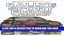 Read Now Rallye Sport Fords: The inside story Download Book