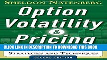[PDF] Option Volatility and Pricing: Advanced Trading Strategies and Techniques, 2nd Edition