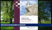 READ  Guide to FAR Contract Clauses: Detailed Compliance Information for Government Contracts,