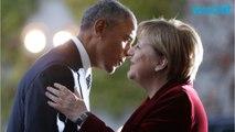 President Obama Meets With German Chancellor Angela Merkel