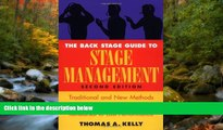Free [PDF] Downlaod  The Back Stage Guide to Stage Management: Traditional and New Methods for