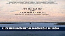 [PDF] The End of Abundance: economic solutions to water scarcity Full Online
