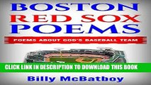 [PDF] BOSTON RED SOX BASEBALL STORIES: POEMS ABOUT THE RED SOX -- GOD S BASEBALL TEAM - BOSTON RED
