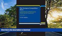 GET PDF  The European Competition Rules: Landmark Cases of the European Courts and the Commission