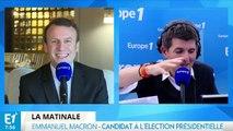 """Macron : avec Hollande """"j'ai été parfois de bons conseils, parfois de mauvais"""""""