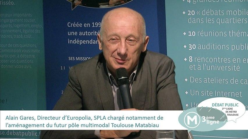 Audition d'Alain Gares 17 novembre