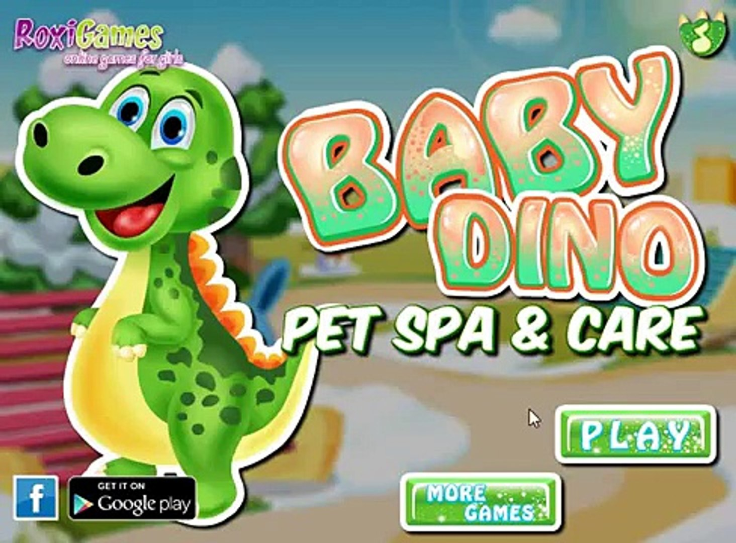 Динозаврик: Уход за динозавриком. / Dinosaur: Care dinosaur Dress dinosaur