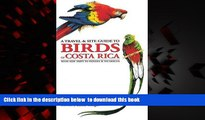 liberty books  A Travel and Site Guide to Birds of Costa Rica: With Side Trips to Panama and