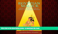 Best books  Egyptian Magick: Enter the Body of Light   Travel the Magickal Universe (Llewellyn s