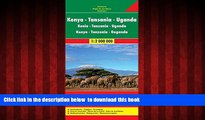 GET PDFbook  Kenya / Tanzania / Uganda FB 1:2M 2013 (English, French and German Edition) BOOK