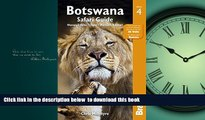 Best book  Botswana Safari Guide: Okavango Delta, Chobe, Northern Kalahari (Bradt Travel Guide)