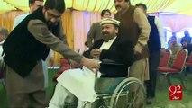 Pashtun singer Khyal Muhammad presented with highest Afghan civil award-11-2016 - 92NewsHD