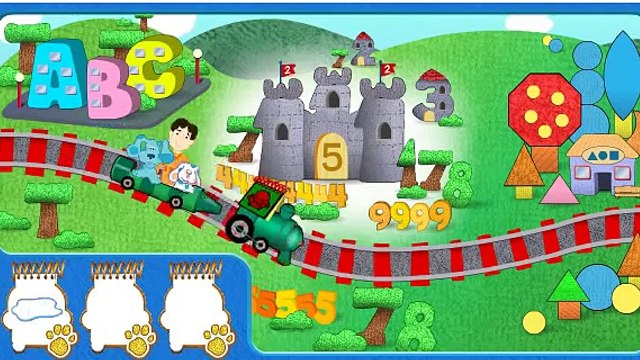 Blues Clues Episodes for Kids - Blues Golden Clues Game - Yo Gabba Gabba!