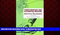 GET PDFbook  Complementary and Alternative Medicine and Multiple Sclerosis BOOK ONLINE