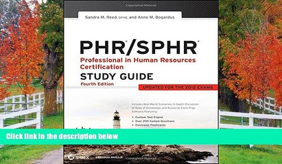 Fresh eBook PHR / SPHR: Professional in Human Resources Certification Study Guide