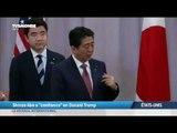 """Shinzo Abe a """"confiance"""" en Donald Trump"""