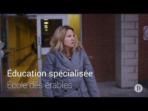 Éducation spécialisée à l'École des érables