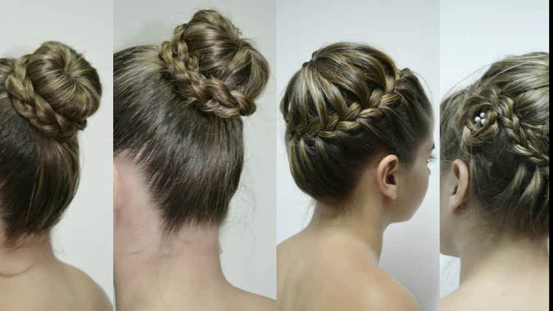 4 Ideas para Hacer Peinados con Coronas-Trenzas de Corona