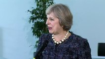 Theresa May: 'Preparations for Brexit are on track'