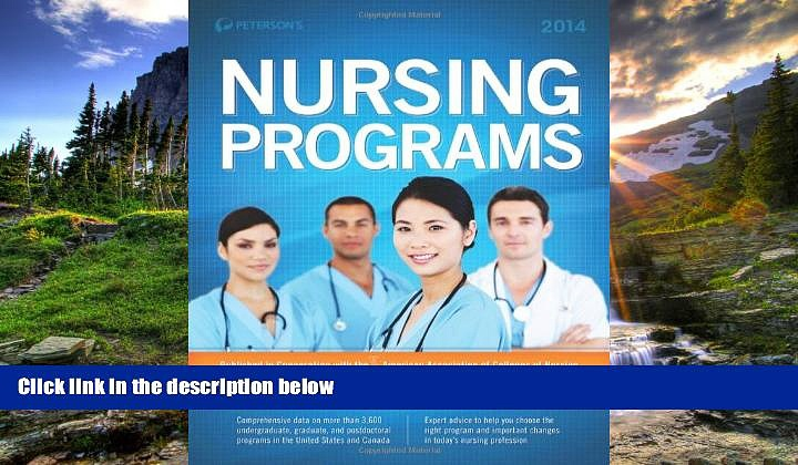 Online eBook Nursing Programs 2014 (Peterson s Nursing Programs)