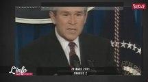 2001 : Georges Bush Junior fait un discours contre les accords de Kyoto