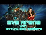 Evylyn - 2v2 Arenas with Easters - Warrior/windwalker monk FUNAGE! :) WOW MOP 5.3 Warrior monk PVP