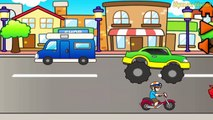 Cars for Kids : Transportation sounds - Cars Puzzle for Toddlers - transport for kids