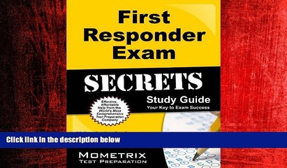 free download first responder exam secrets study guide fr test review for the first responder