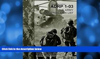 Big Deals  Army Doctrine Reference Publication ADRP 1-03 The Army Universal Task List October