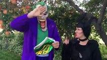 Anna Belle Ruin Elsas Dress Ripped In Half Fun Superhero Kids In Real Life In 4K