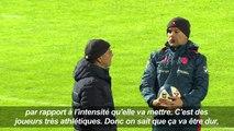Rugby: veillée d'armes à Marcoussis pour le XV de France