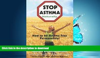 Buy books  Stop Asthma Naturally: Incorporating the Buteyko Breathing Method