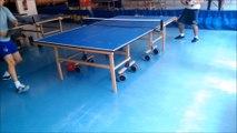 5-4-1 N4 Service N°1 Apprentissage du service bombe en tennis de table