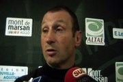 SITE OFFICIEL STADE MONTOIS RUGBY - INTERVIEW C. LAUSSUCQ ANGOULEME